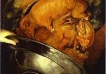 «Юрист», Джузеппе Арчимбольдо — описание картины