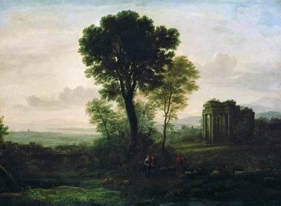 Художник Клод Лоррен, творчество, картины, биография