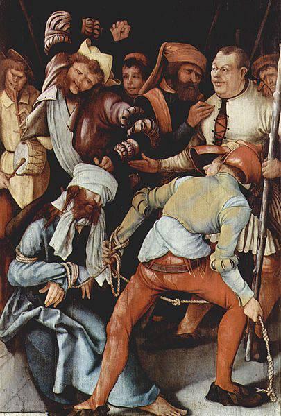 «Штуппахская мадонна», Маттиас Грюневальд — описание картины