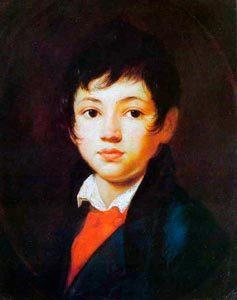«Портрет мальчика Челищева», Орест Адамович Кипренский — описание