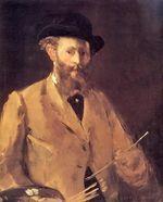 В лодке, Эдуард Мане, 1874