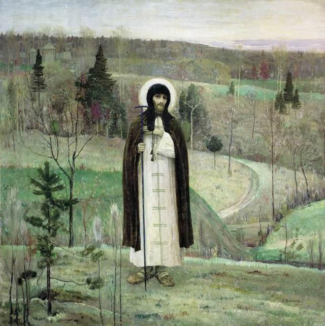 «Троице-Сергиева лавра», Фёдор Яковлевич Алексеев — описание картины