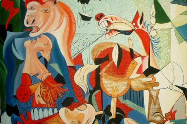 Танец, Пабло Пикассо - описание картины