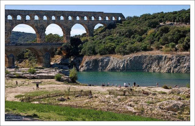 Пон-дю-Гар. Римский акведук через реку Гар - Юбер Робер