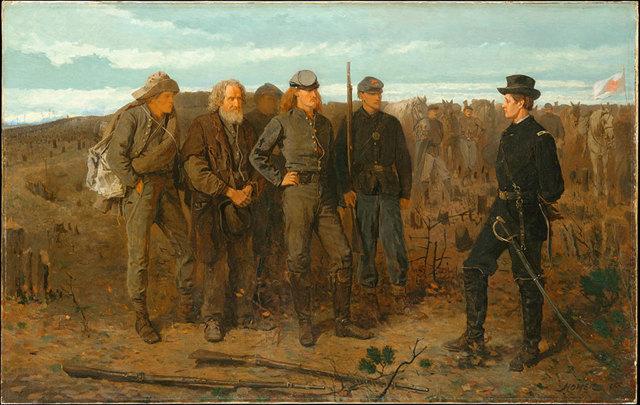 Порыв ветра, 1873-1876, Уинслоу Хомер