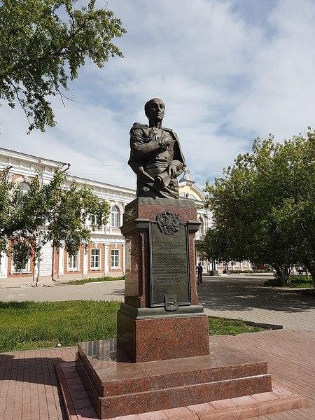 Портрет графа М. М. Сперанского, П. А. Иванов, 1806
