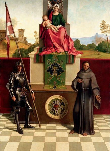 «Три философа», Джорджоне — описание картины