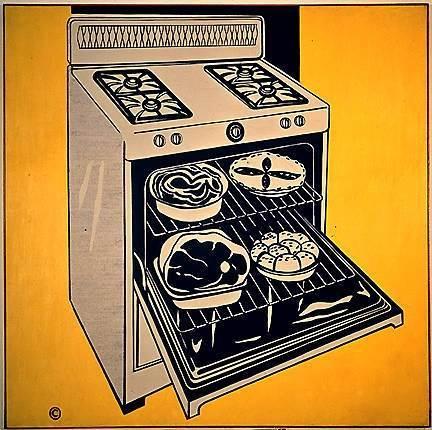 Картина Мазок, Рой Лихтенштейн - описание