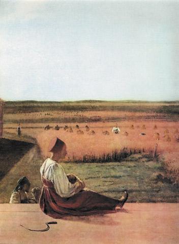 Картина «Захарка», А. Г. Венецианова — описание