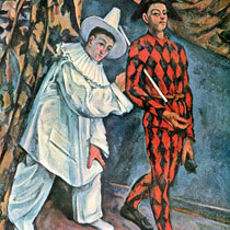 «Современная Олимпия», Поль Сезанн — описание картины
