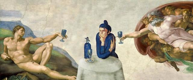 Любительница абсента, Пабло Пикассо, 1901