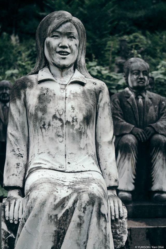 Скульптура Японии - фото, описание