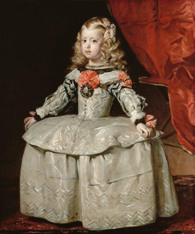 Портрет инфанты Маргариты, дочери Филиппа iv - Диего Веласкес, 1655