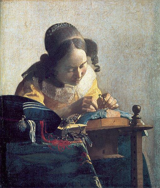 Молодая женщина с кувшином у окна, Ян Вермеер