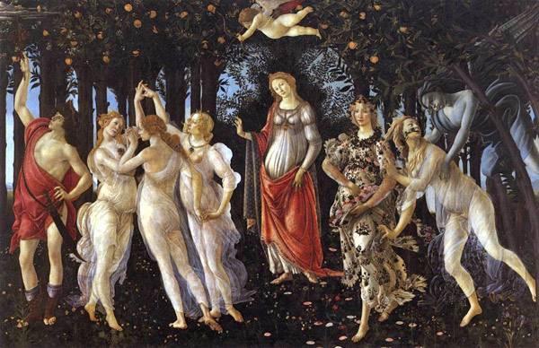 «Благовещение», Сандро Боттичелли, 1485 — Описание и ВидеоОбзор картины