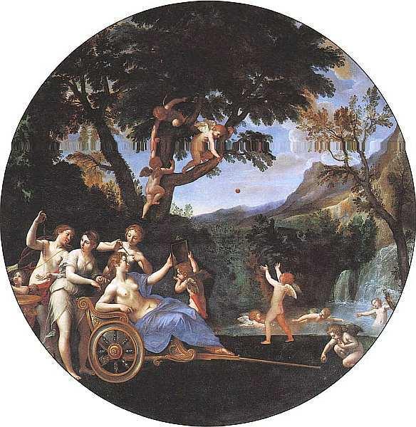 Весна (Туалет Венеры), Франческо Альбани