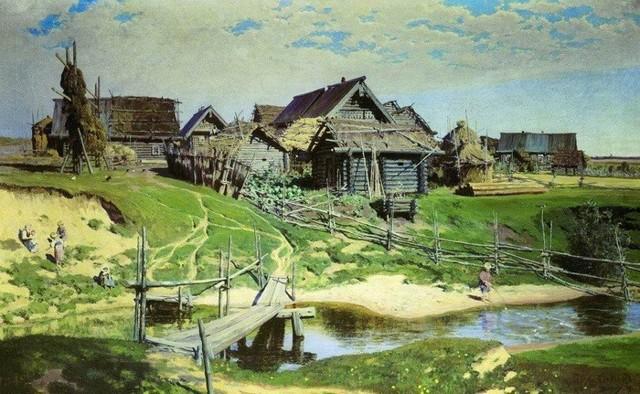 Тивериадское озеро, Василий Дмитриевич Поленов - описание