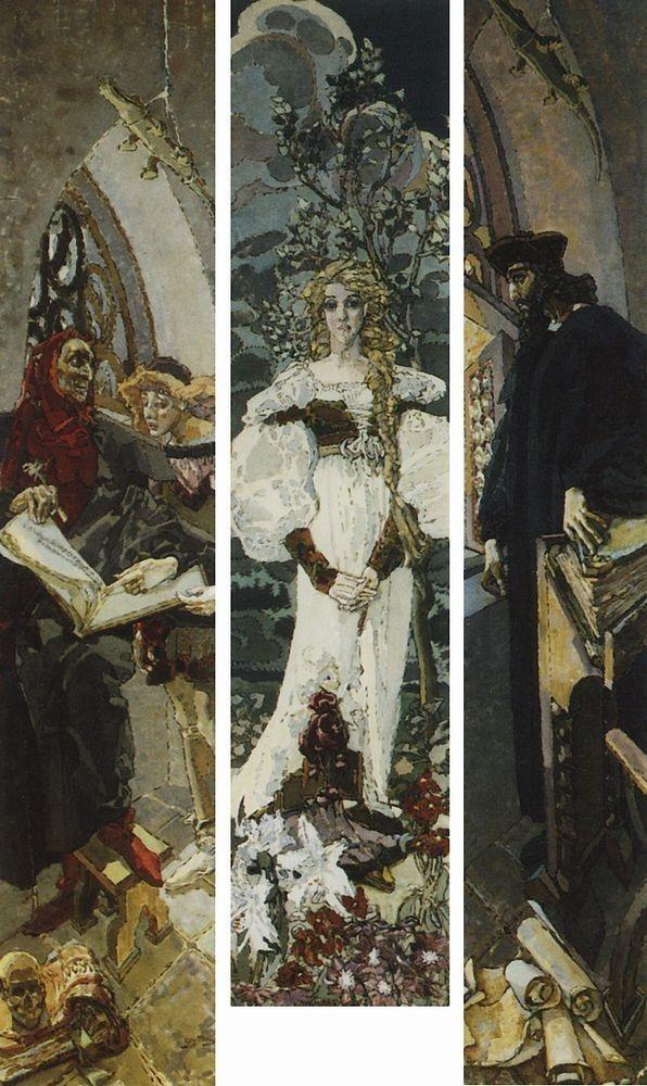 «Демон сидящий», Врубель — Описание и ВидеоОбзор картины
