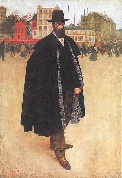 «Портрет клептомана», Теодор Жерико — описание