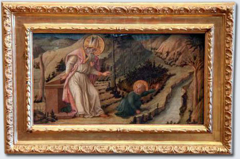 Поклонение Младенцу Христу, Филиппино Липпи