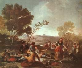 Портрет донны Исабель де Порсель, Франсиско де Гойя