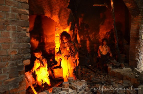 Мемориальный музей мира в Хиросиме, Япония