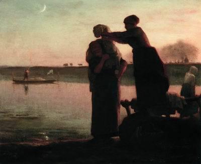 Собирательницы колосьев, Жан-Франсуа Милле, 1857