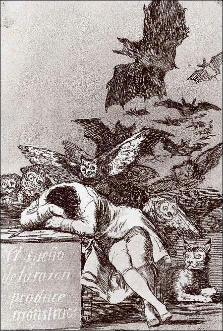 Махи на балконе, Франсиско Гойя