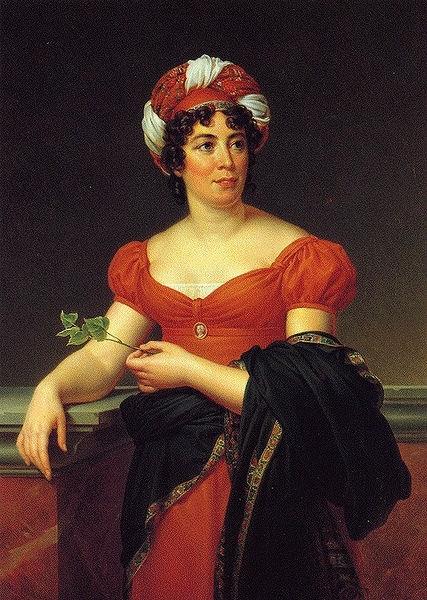 Портрет мадам Рекамье, Жак Луи Давид - описание картины