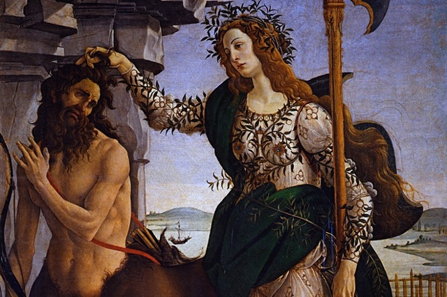Святой Себастьян, Сандро Боттичелли - описание картины