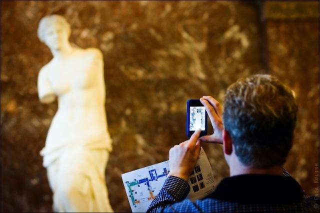 Скульптуры Лувра: фото и описание