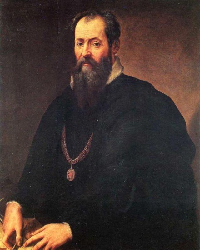 Святой Лука пишет портрет Богородицы, Джорджо Вазари, 1565