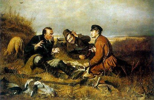 Птицелов, Перов, 1870