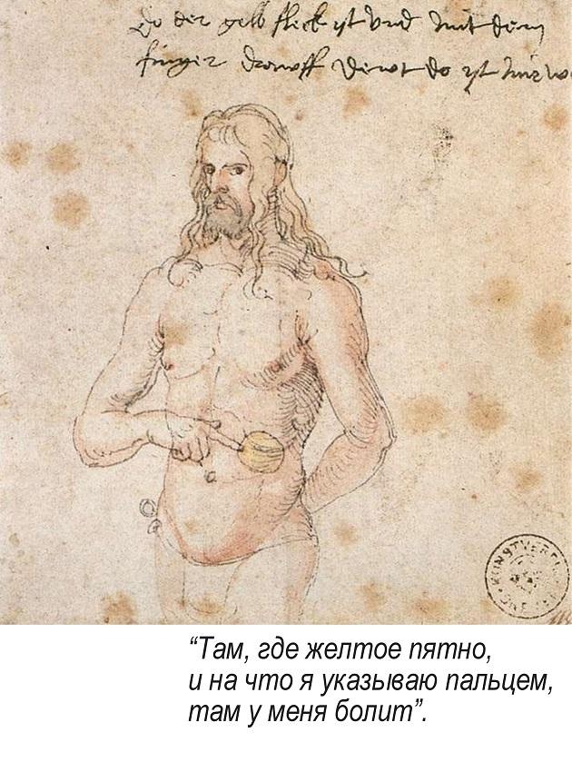 Портрет отца, Альбрехт Дюрер, 1497