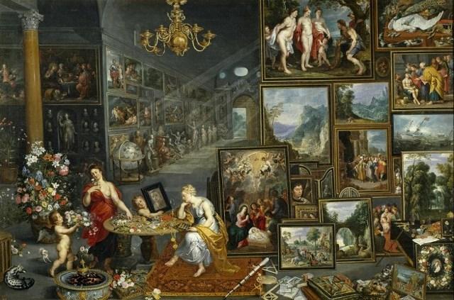 «Аллегория Зрения», Ян Брейгель Старший — описание картины
