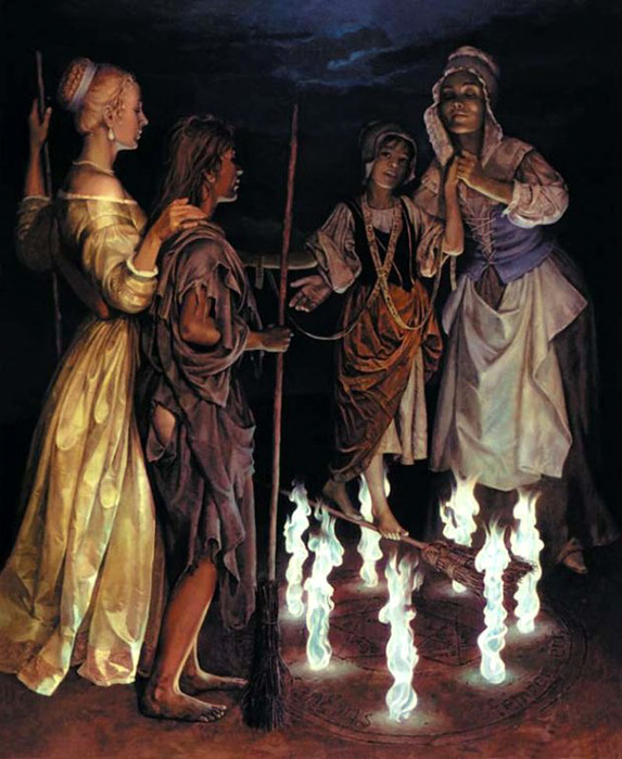 Шабаш ведьм, Франсиско де Гойя - описание картины