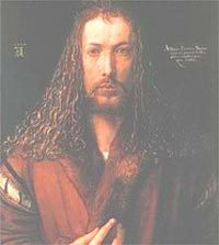 Портрет молодого человека, Альбрехт Дюрер, 1521