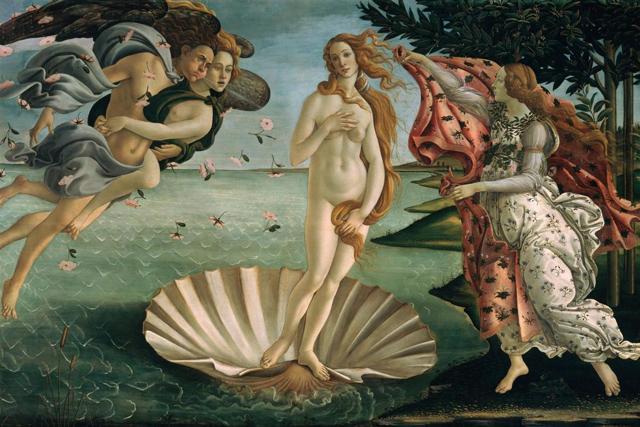 «Мадонна с младенцем и двумя ангелами», Боттичелли — описание картины