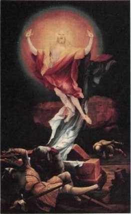 «Изенхеймский алтарь», Маттиас Нитхардт (Грюневальд) — описание картины