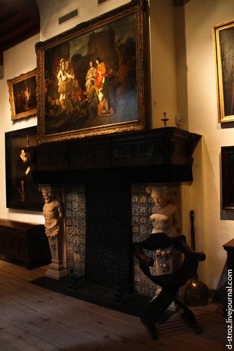 Дом-музей Рембрандта в Амстердаме, Голландия