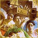 Картина «Последний день Помпеи», 1833, Брюллов