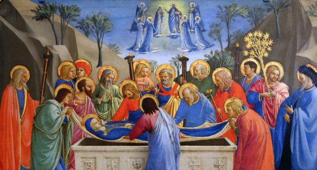 Смерть Марии, Микеланджело Меризи де Караваджо