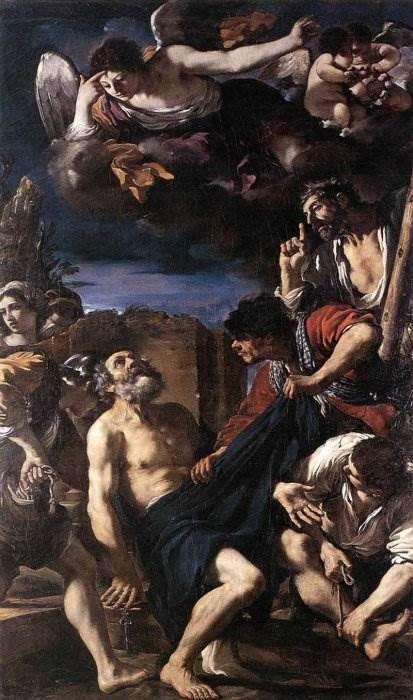 Зала Авроры, Джованни Франческо Барбьери Гверчино