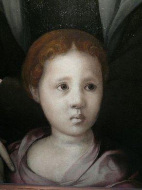 Портрет Бии Медичи, Аньоло Бронзино, 1542