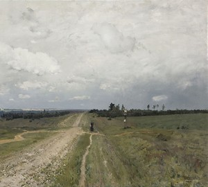 Картина «Владимирка», Левитан — описание и видео