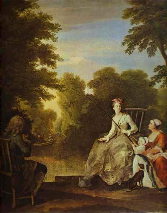 «Девушка с креветками», Уильям Хогарт — описание картины