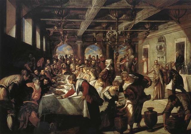 Брак в Кане Галилейской, Паоло Веронезе