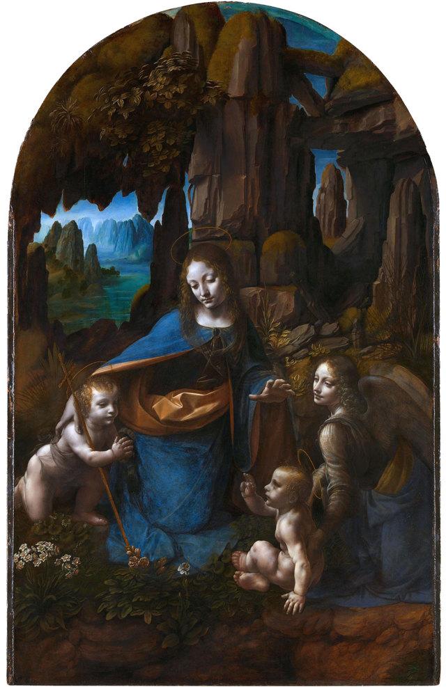 Мадонна с Младенцем и святой Анной, Леонардо да Винчи