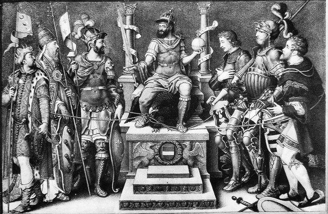 «Император Карл v», Хуан Пантоха де ла Крус — описание
