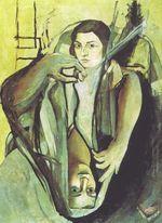 Женская фигура у окна, Сальвадор Дали, 1925